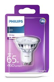 Philips Led 5W, GU 10 460Lm (65W), 3000K