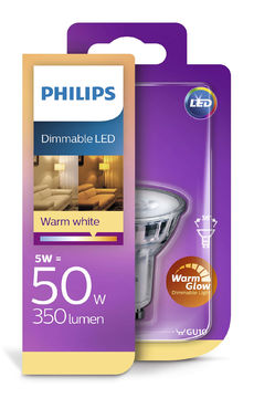 Philips Led 5W, GU 10 350Lm (50W), 2200-2700K