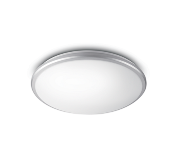 Philips Guppy ceiling lamp grey,  1x12W 230V IP44 2700K